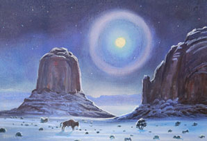 Buffalo Pass, Pastels, 8 inches x 12 inches