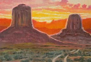 Magnificent Buttes, 11.5 x 15 inches [CALL FOR INFORMATION]